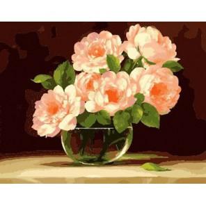 Утренний букет Раскраска по номерам акриловыми красками на холсте Menglei