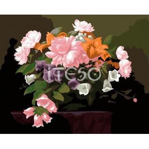 Вдохновение Раскраска по номерам акриловыми красками на холсте Iteso Картина по цифрам