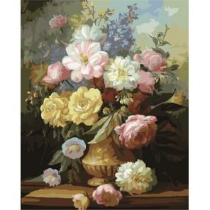 Натюрморт Раскраска по номерам акриловыми красками на холсте Color Kit Картина по цифрам