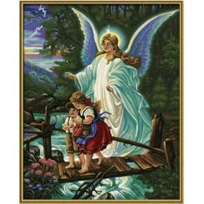 Ангел-хранитель Раскраска по номерам акриловыми красками Schipper (Германия)