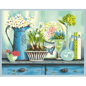 Винтажная коллекция Раскраска картина по номерам акриловыми красками Dimensions