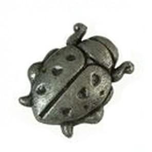 Божья коровка Серебряная Металлическая фигурка для скрапбукинга, кардмейкинга Scrapberry's