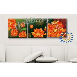Оранжевый хоровод Раскраски картины по номерам акриловыми красками на холсте Hobbart