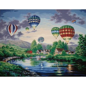 Парад шаров Раскраска картина по номерам Dimensions