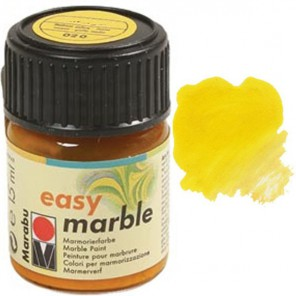20 Лимонный Краски для марморирования Marabu-easy marble