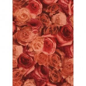 Розы коричневые Бумага для декопатча Decopatch