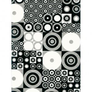 Геометрия черно-белая 3шт Набор Бумага для декопатча Decopatch