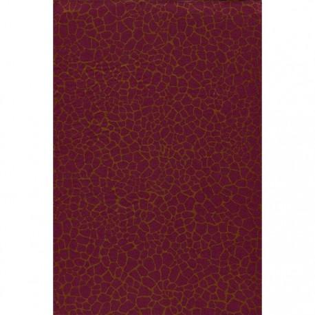 Кракле бордово-золотой 542 Бумага для декопатча Decopatch