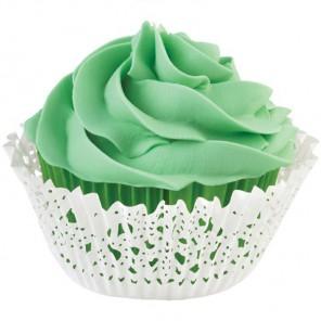 Зеленая салфетка Набор бумажных форм для кексов Wilton ( Вилтон )