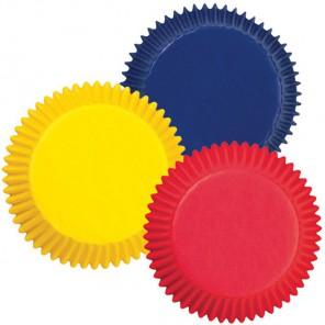 Яркие цвета Набор бумажных форм для кексов Wilton ( Вилтон )