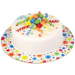 Яркие кружки Основа для торта круглая Wilton ( Вилтон )