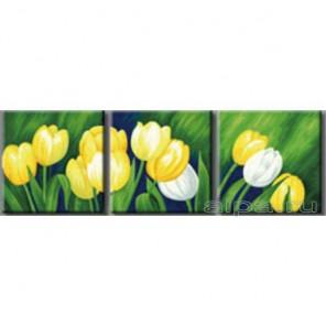 Весенние тюльпаны Раскраски картины по номерам акриловыми красками на холсте Hobbart
