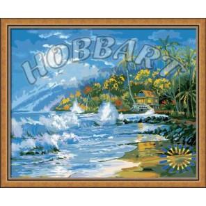 На берегу Раскраска по номерам акриловыми красками на холсте Hobbart