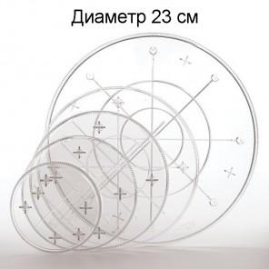 Прозрачная 23см Тарелка круглая под торт Wilton ( Вилтон )