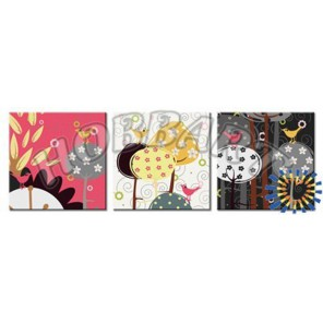 Птичье царство Раскраски картины по номерам акриловыми красками на холсте Hobbart