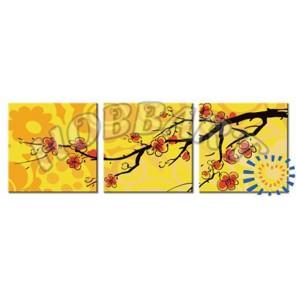 Сакура в лучах заката Раскраски картины по номерам на холсте Hobbart