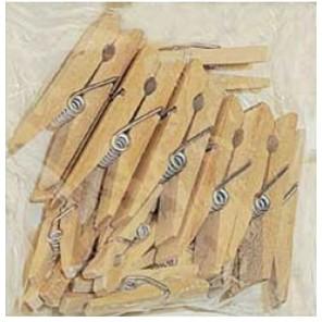 Мини Прищепки деревянные 2,5см и 3,5см Stamperia
