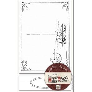 Почтовая рамка  Набор резиновых штампов для скрапбукинга, кардмейкинга Docrafts