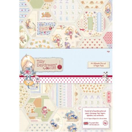 Tilly Daydream 48 листов Набор бумаги А4 для скрапбукинга, кардмейкинга Docrafts