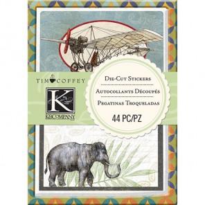 Багаж Стикеры-украшения для скрапбукинга, кардмейкинга K&Company