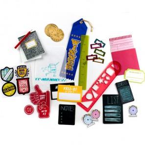 Школьная сумка Набор украшений Smash ( Смэш ) для скрапбукинга K&Company