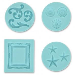 Декоративный Силиконовый молд для полимерной глины Марта Стюарт Martha Stewart
