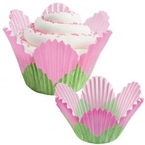 Розовый лепесток Набор бумажных форм для кексов Wilton ( Вилтон )