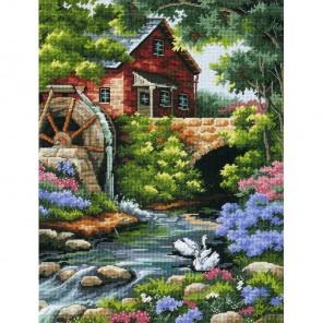 Коттедж Старая Мельница 02484 Набор для вышивания Dimensions ( Дименшенс )