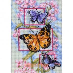 Бутоны и бабочки Набор для вышивания Dimensions ( Дименшенс )