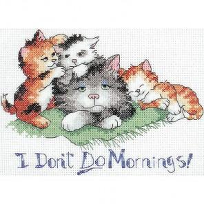 Не люблю я утро Набор для вышивания Dimensions ( Дименшенс )