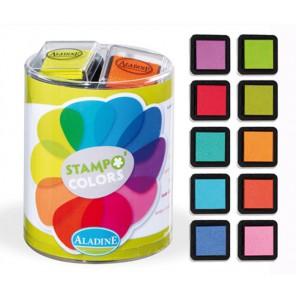 Stampo Colors Vitamine Набор штемпельных подушек Aladine