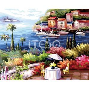 Теплый ветерок Раскраска (картина) по номерам акриловыми красками на холсте Iteso
