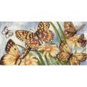 Виньетка с бабочками Набор для вышивания Dimensions ( Дименшенс )
