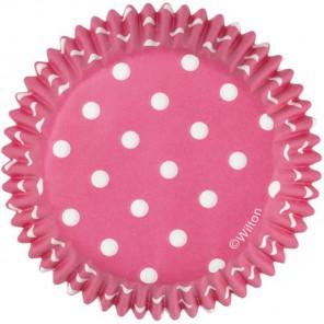 Розовый горох Набор бумажных форм для кексов Wilton ( Вилтон )