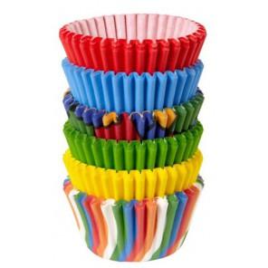 Основные цвета Набор бумажных мини форм для кексов Wilton ( Вилтон )