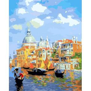Солнечная Венеция Раскраска по номерам акриловыми красками на холсте Iteso