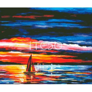 Краски заката Алмазная вышивка (мозаика) Iteso