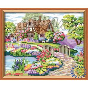 Цветочная идиллия Раскраска по номерам на холсте Hobbart