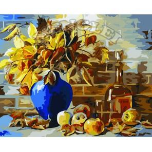 Осенний натюрморт Раскраска по номерам акриловыми красками на холсте Menglei