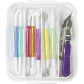 10шт Инструменты для мастики Набор Wilton ( Вилтон )