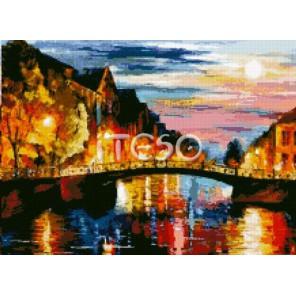 Вдохновение на закате  Алмазная вышивка (мозаика) Iteso