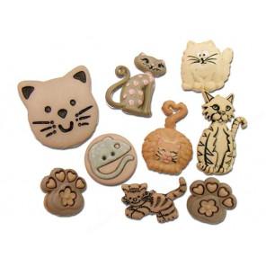 Feline Fancy Пуговицы декоративные Jesse James & Co