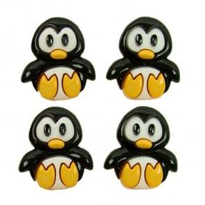 Пингвины Пуговицы декоративные Jesse James & Co