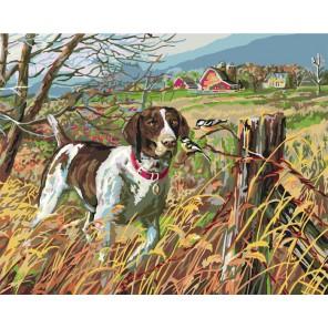 Морган (художник Джеймс Мегер) Раскраска картина по номерам акриловыми красками Plaid