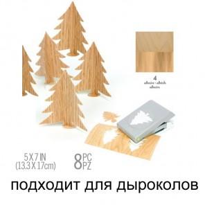 Структура дерева Набор листов для дыроколов Ek Success