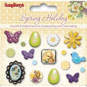 Весенний Брадсы Набор для скрапбукинга, кардмейкинга Scrapberry's