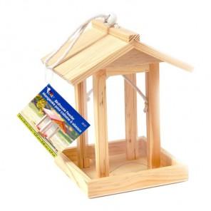 Прозрачная кормушка Заготовка деревянная 20127 Plaid