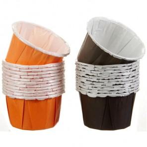 Черные и оранжевые Набор форм для сервировки Wilton ( Вилтон )
