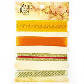 Желто-оранжевый Набор лент MAGIC HOBBY