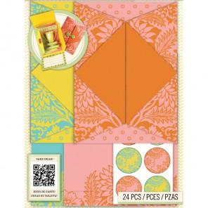 Складной Набор открыток и конвертов K&Company